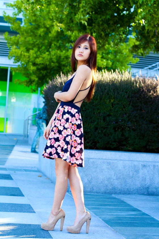 Julie Cheng LifesJules Fashion Blogger Charlotte Russe Floral Dress Streetstyle Photography by Ryan Chua-8633-EDITED