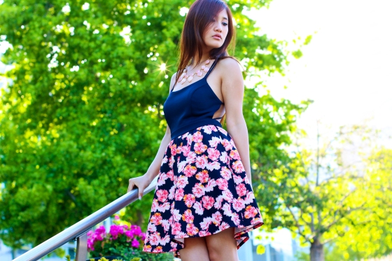 Julie Cheng LifesJules Fashion Blogger Charlotte Russe Floral Dress Streetstyle Photography by Ryan Chua-8686-EDITED