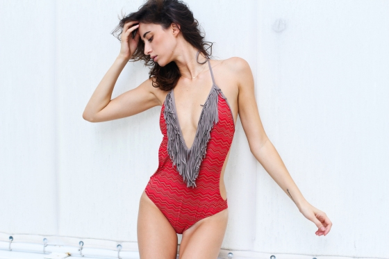 Paula Newlands Red Monokini Miami Fashion Model Photography by Ryan Chua-7210-EDITED