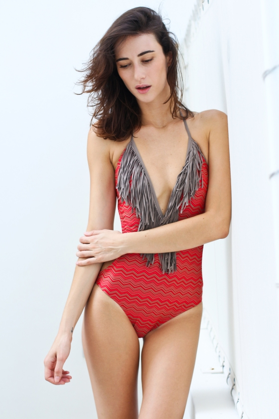 Paula Newlands Red Monokini Miami Fashion Model Photography by Ryan Chua-7422-EDITED