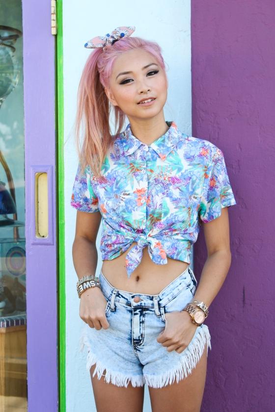 Francis Lola Flamcis Los Angeles Fashion Blogger Streetstyle Photography by Ryan Chua-4865