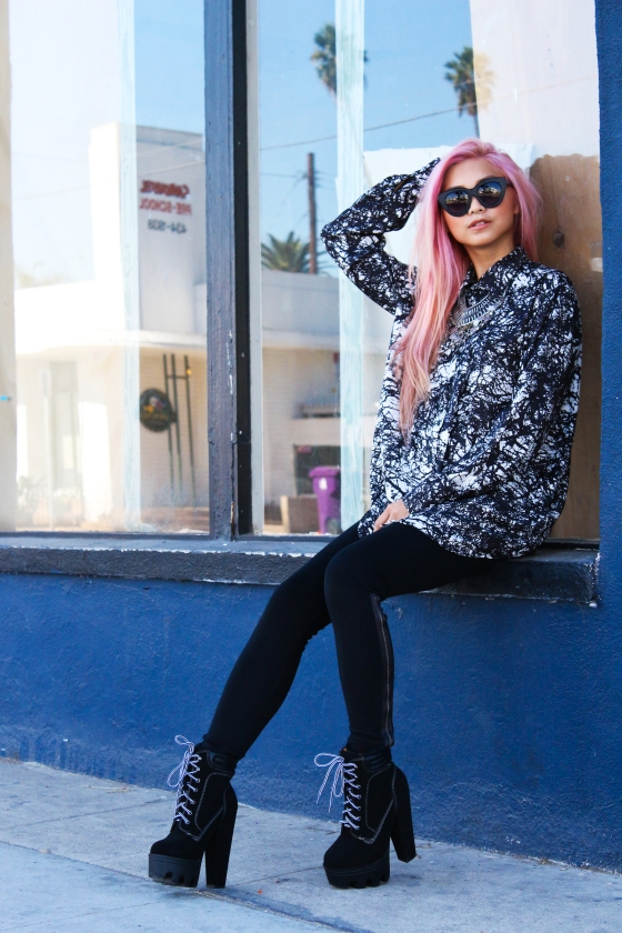 Francis Lola Flamcis Los Angeles Fashion Blogger Streetstyle Photography by Ryan Chua-5187
