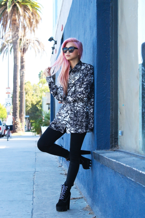 Francis Lola Flamcis Los Angeles Fashion Blogger Streetstyle Photography by Ryan Chua-5266