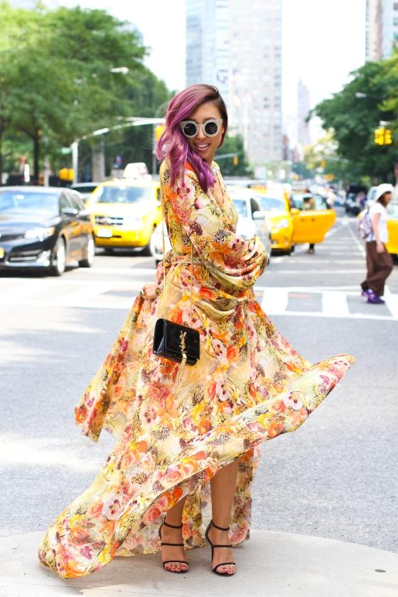 Joann Doan New York Fashion Week Streetstyle Photograph by Ryan Chua-2029