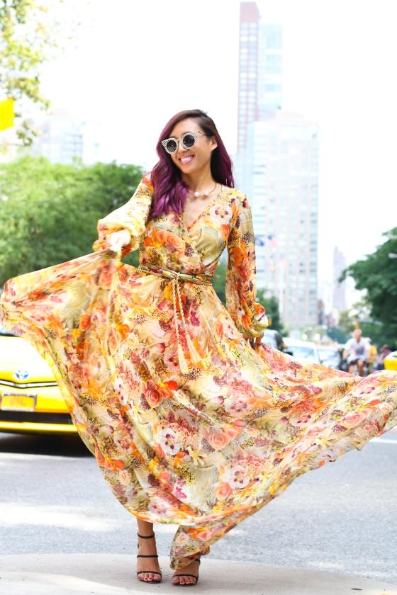 Joann Doan New York Fashion Week Streetstyle Photograph by Ryan Chua-2045