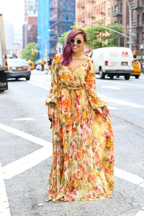 Joann Doan New York Fashion Week Streetstyle Photograph by Ryan Chua-2175