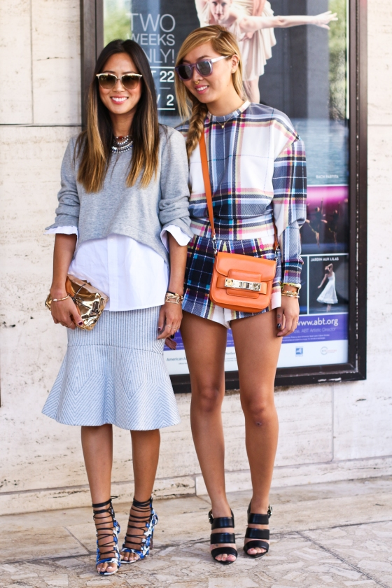 Aimee and Dani Song New York Fashion Week Lincoln Center SS2015 Streetstyle Photography by Ryan Chua-0955