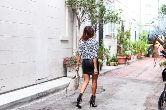 Elizabeth Keene of A Keene Sense of Style Fashion Blogger Photography by Ryan Chua