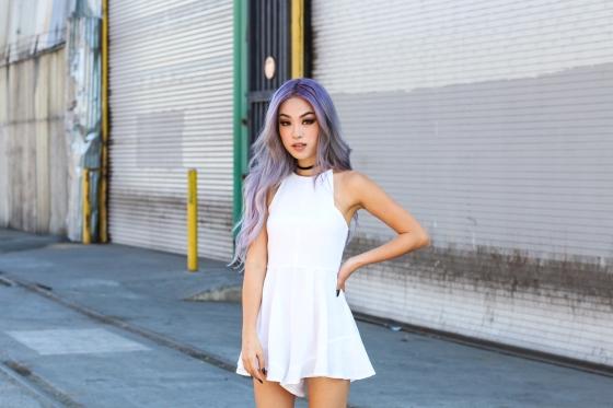 Ellen V Lora Rocafox Fashion Blogger Los Angeles Photography by Ryan Chua