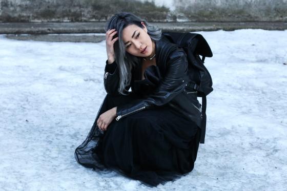Eugenie Grey Feral Creature New York Fashion Week Photography by Ryan Chua