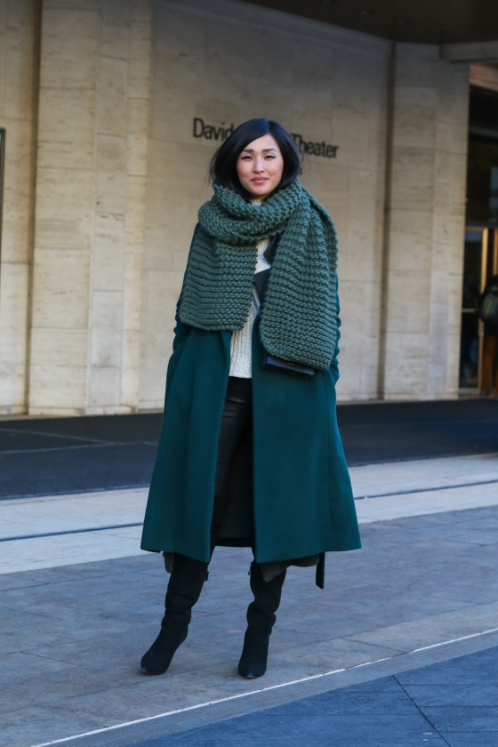 Nicole Warne Gary Pepper Girl New York Fashion Week Feb 2015 Lincoln Center Streetstyle Photography by Ryan Chua