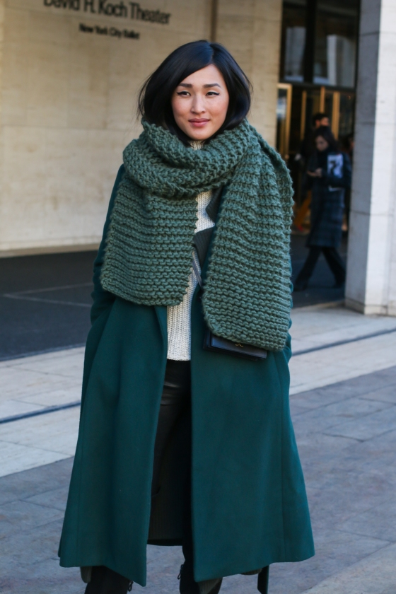 Nicole Warn Gary Pepper Girl New York Fashion Week Feb 2015 Lincoln Center Streetstyle Photography by Ryan Chua