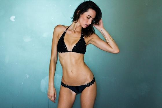 Brazilian Model Paula Newlands Bikini Fashion Model Photography by Ryan Chua