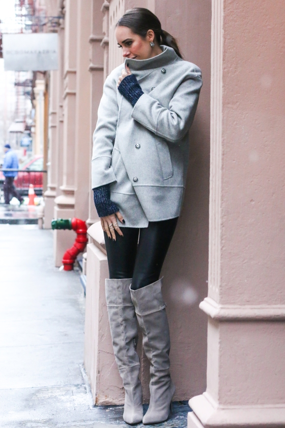 Louise Roe FrontRoe Fashion Blogger Celebrity Shot in NYC Photography by Ryan Chua