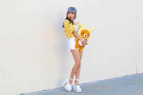 Essy Park EssyNoir LA Fashion Blogger Photography by Ryan Chua-7177