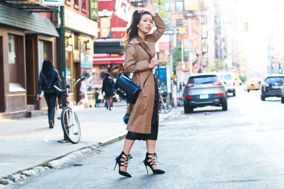 Leah Ho Lipstick Catwalk Fashion Blogger NYC Photography by Ryan Chua-9675