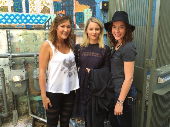 Glee Cheerlead Dianna Agron at Tacolicious San Francisco
