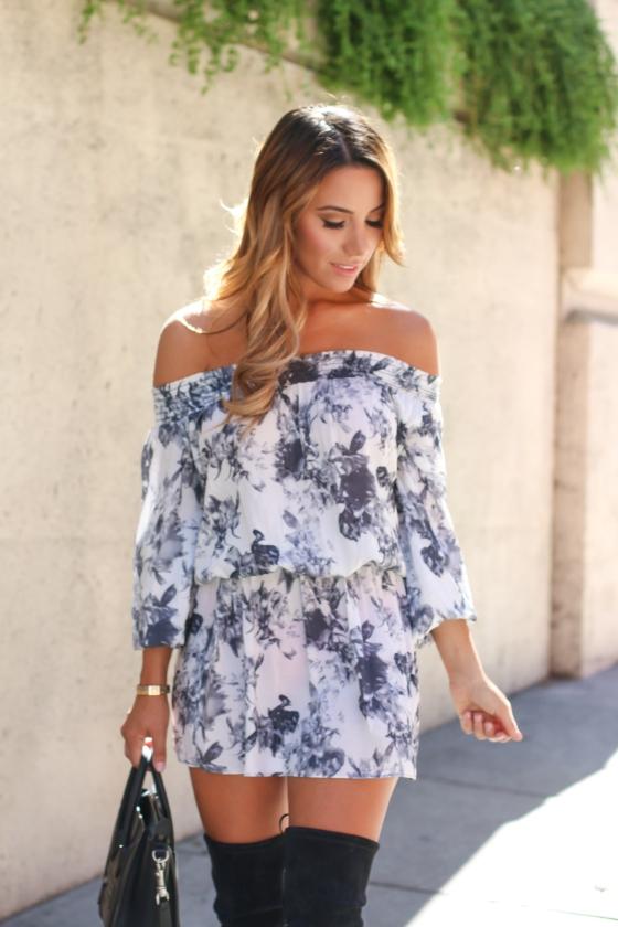 Ariana Lauren Floral Romper-0612