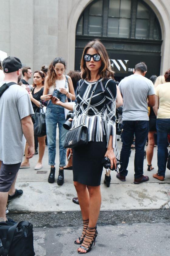 Annabelle Fleur New York Fashion Week Day 3 Streetstyle 2015 Photography by Ryan Chua NYFW