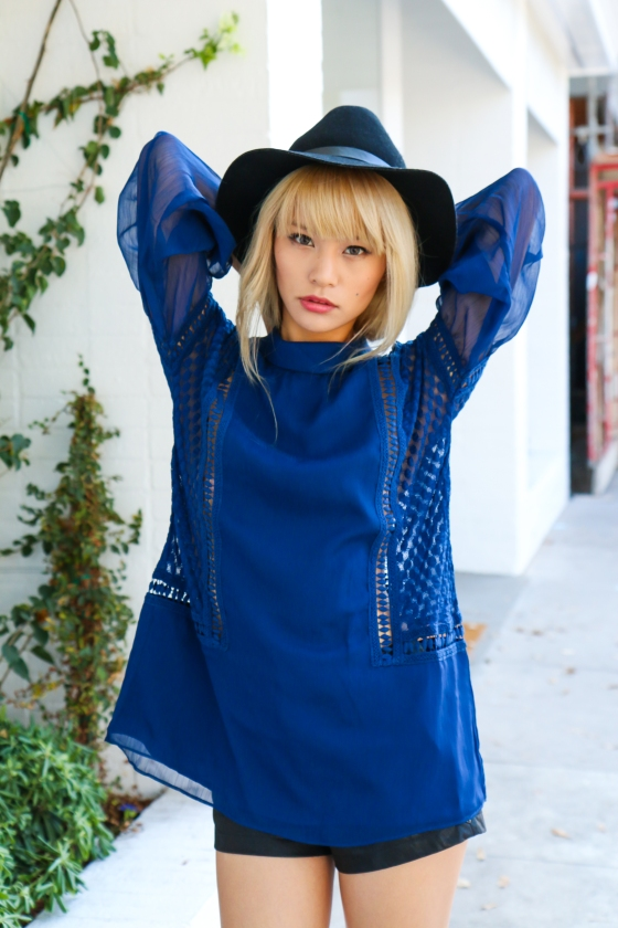 Yuki Ito x Alli K Clothing Blue Dress Photography by Ryan Chua-3811