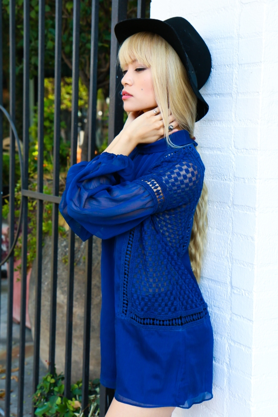 Yuki Ito x Alli K Clothing Blue Dress Photography by Ryan Chua-3891